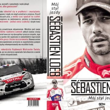 """Rinas poleca książkę: Sebastien Loeb – """"Mój styl jazdy"""""""